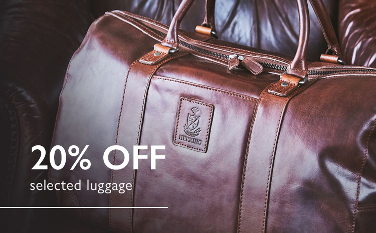 20% off Luggage