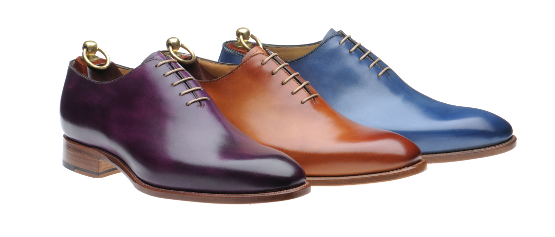 Herring handcrafted patinated shoes by Carlos Santos