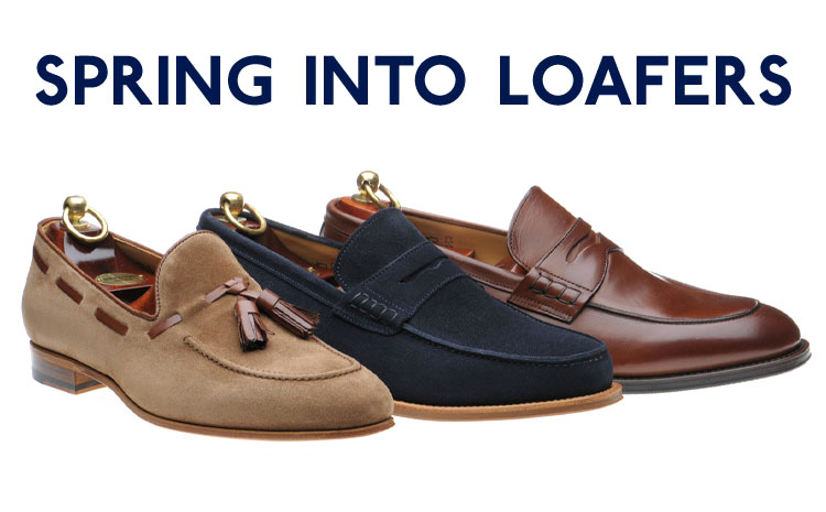 Spring loafers just in