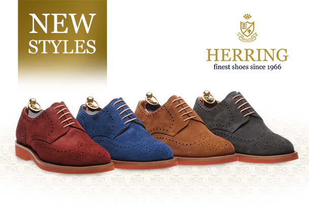 Herring Ludlow, autumn colours and rubber soles