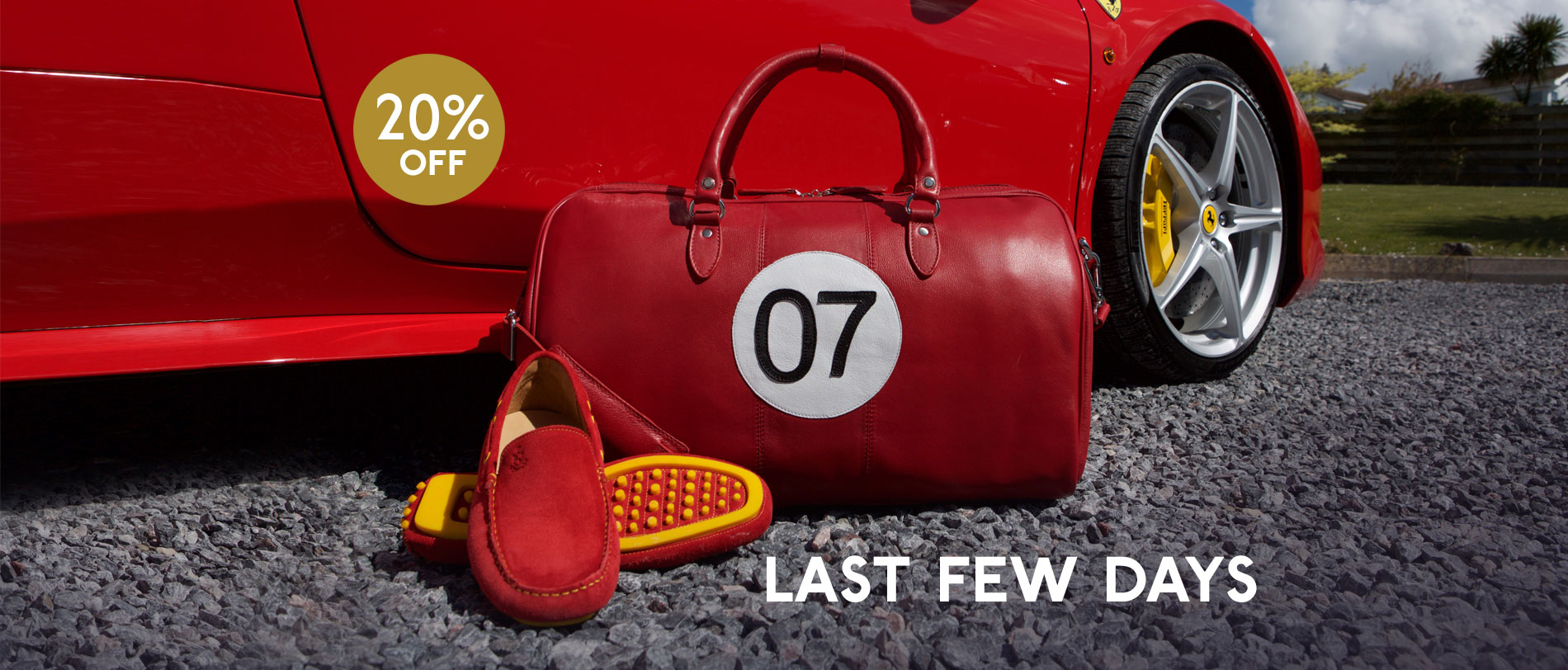 Last few days to save 20% on selected moccs and bags