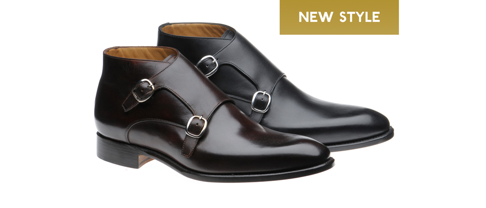 Herring Orwell double monk boot
