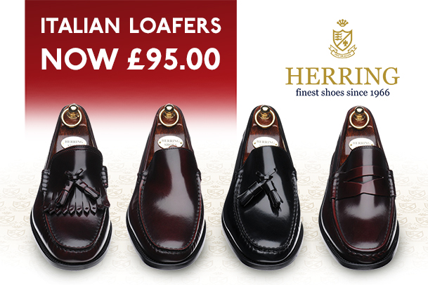 August Offer - £20 off our Italian loafers