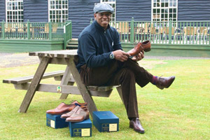 Ian Wright MBE in Herring Shoes
