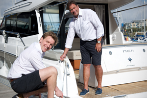 Profile of Richard at Trafford Yachts